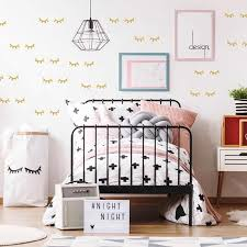 Kids Room Decoration Eyelash Wall Stickers Cute Baby Room Stickers Nordic Girl Bedroom Decor Wall Stickers Aliexpress