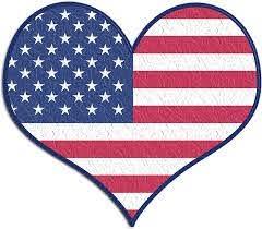Amazon Com Rogue River Tactical Usa Flag Heart Sticker Bumper Sticker 5 X 4 Car Decal Gift Patrioyic American 1 Automotive
