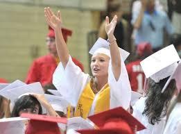East Longmeadow High School graduates driven inside by tornado threat -  masslive.com