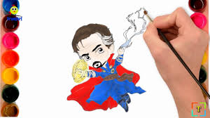 MARVEL Doctor Strange Coloring Pages | How to Draw Doctor Strange ...
