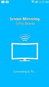 screen mirroring for sony bravia