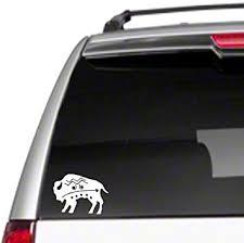 Amazon Com Buffalo Aztec 6 Car Vinyl Decal Sticker Roam Wild Native West Free Spirite34 Automotive