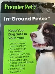 Premier Pet In Ground Fence Needs Wire 729849163492 Ebay