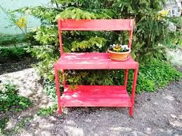 how to build a garden work bench