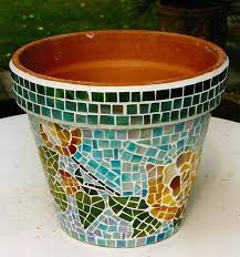 mosaic pot mosaic flower pot exporter