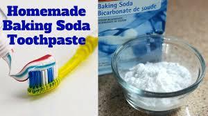 homemade baking soda toothpaste you