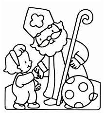 Kleurplaten De Zak Van Sinterklaas Nl