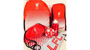 liverpool fc football gift set pieces