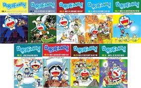 Combo 9 quyển truyện tranh Doraemon - loại truyện dài