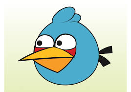 Blue Angry Bird - Download Free Vectors, Clipart Graphics & Vector Art