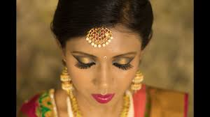 south indian bridal makeup in hd