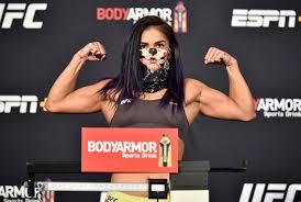 UFC Vegas 2: Cynthia Calvillo decisions Jessica Eye in main event