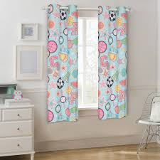 Mainstays Go Team Kids Room Darkening Single Window Curtain Panel Walmart Com Walmart Com