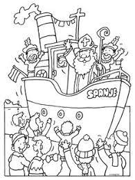 De 8 Beste Afbeeldingen Van Sinterklaas Kleurplaten Sinterklaas