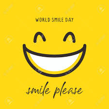 Happy World Smile Day Banner Vector Illustration Greeting Design.. Royalty  Free Cliparts, Vectors, And Stock Illustration. Image 129793629.