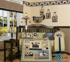 crib bedding set baby boy nursery quilt