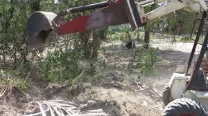 homemade skidsteer backhoe you