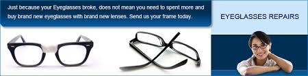 eyeglass repair broken eyeglasses