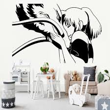 Animation Art Characters Japanese Anime Chihiro No Face Anime Spirited Away Haku Ghibli Vinyl Decal Sticker Zsco Iq