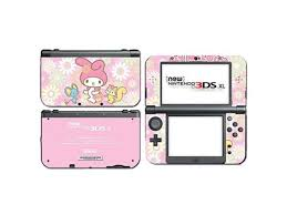 My Melody Cute Pink Hello Kitty Video Game Vinyl Decal Skin Sticker Cover For The New Nintendo 3ds Xl Ll 2015 System Console Newegg Com