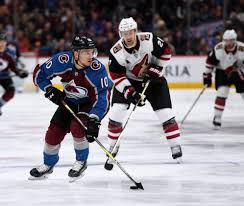 Avalanche's Sven Andrighetto thrilled to be back with team
