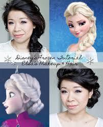 frozen elsa s make up look saubhaya