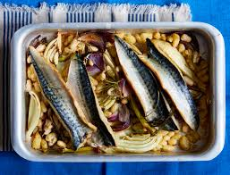 Baked Mackerel With Fennel And ...