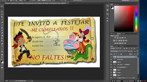 Plantilla Editable Para Invitacion Infantil O Cumpleanos Photoshop