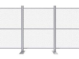 Fence Gates Match With Various Temporary Fence Crowd Control Barriers