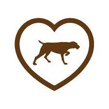 13 Cm X 12 Cm I Love Weimaraner Pointer Heart Dog Animal Sticker For Car Rear Window Windshield Glass Truck Suv Bumper Auto Door Kayak Vinyl Decal Scratches Waterproof Wish
