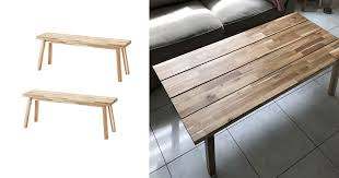 natural wood coffee table ed from 2
