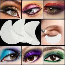 card 2pcs cat eye smokey eye makeup