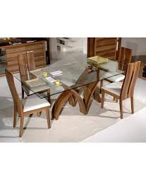 glass top dining table con imágenes