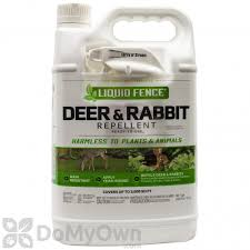 Liquid Fence Deer Rabbit Repellent Rtu 109 1 Gallon Free Shipping