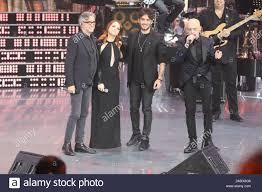 Show titled UNA STORIA DA CANTARE,on stage on italian broadcast tv ...