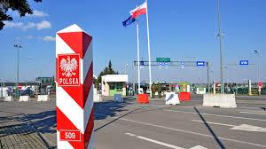 Ograniczenia w ruchu na polskiej granicy. Przejście graniczne w ...