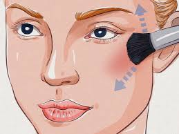 how to contour an oblong face 10 steps
