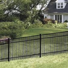 York Aluminum Metal Fence Panels At Lowes Com