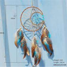 Best Promo E734 Nordic Dream Catcher Large White Dreamcatcher Blue Kids Room Decoration Girls Room Decor Wedding Decoration Gift For Women Fy Seamon Co