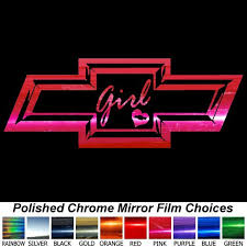 Chevy Bowtie 8 Inch Decals Window Stickers Any Color Chevy Stickers Chevy Bowtie Vinyl Window Decals