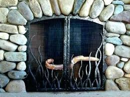 custom fireplace screens jalendecor co