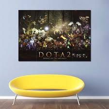 Dota 2 Defence Of The Ancients Block Giant Wall Art Poster
