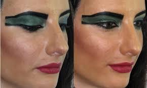 ancient egyptian eye makeup tutorial