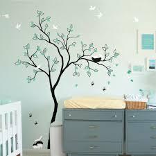 Vinyl Wall Decal Rabbit Wall Sticker Tree Wall Decals Nursery Art R074 Studioquee On Artfire