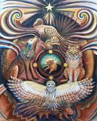 Animal Medicine Wheel /Spirit Animals / Totem / Fine Art Print | Etsy