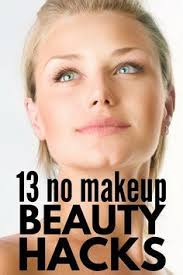 look pretty for without makeup