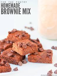 homemade brownie mix recipe don t