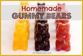 homemade gummy bears recipe a natural