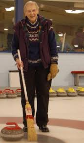 Grassroots Curling: Hilda Holds the Broom