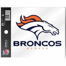 Denver Broncos Stickers Decals Bumper Stickers